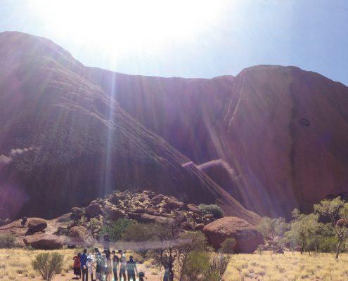 Aboriginal Australia Welcome Film - Uluru, Uluru Kata Tjuta National Park, NT