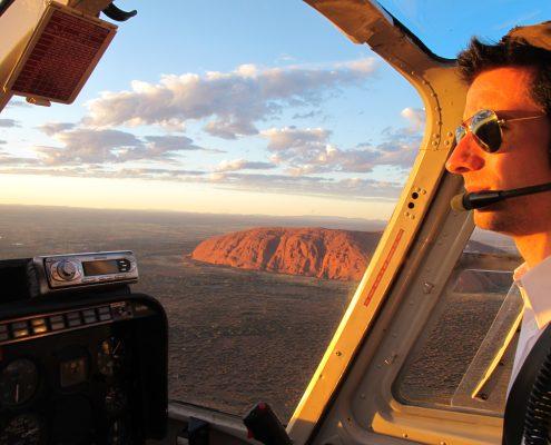 Survol en helicoptère d'Uluru & Kata Tjuta