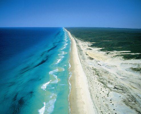 Fraser-Island-75-Mile-Beach-reves-australie